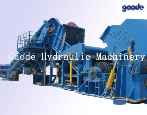 Metal Shredder Line 750kw Metal Shredding Machine